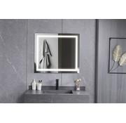 Bella Mirror Spiegel 70 x 80 cm frameloos, inbouw led verlichting en anti condens