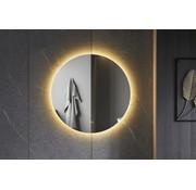 Bella Mirror Spiegel rond 100 cm frameloos, rondom led verlichting en anti condens