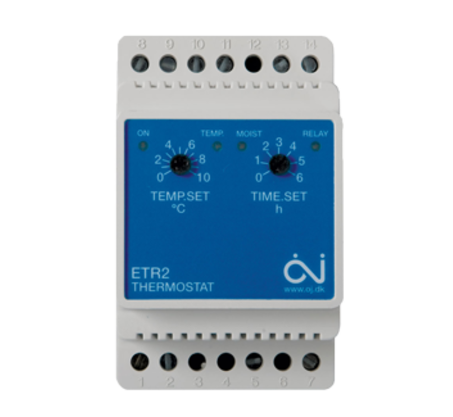 Opritverwarming ETR-2 Regelaar