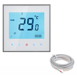 150 Watt mat set inclusief Soft Touch 7-Daags Programmeerbare thermostaat