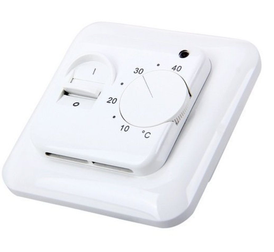 100 Watt elektrische vloerverwarming mat set inclusief eenvoudige Manual thermostaat