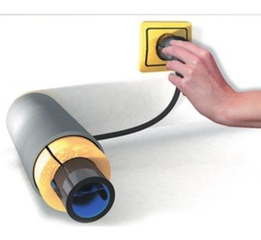 Vorstbeveiliging of vorstvrijlint met ingebouwde thermostaat