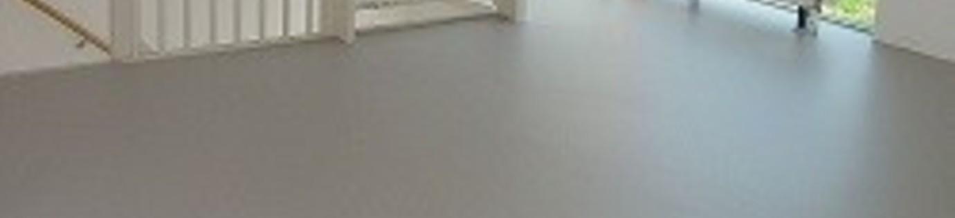 Gietvloer en elektrische vloerverwarming