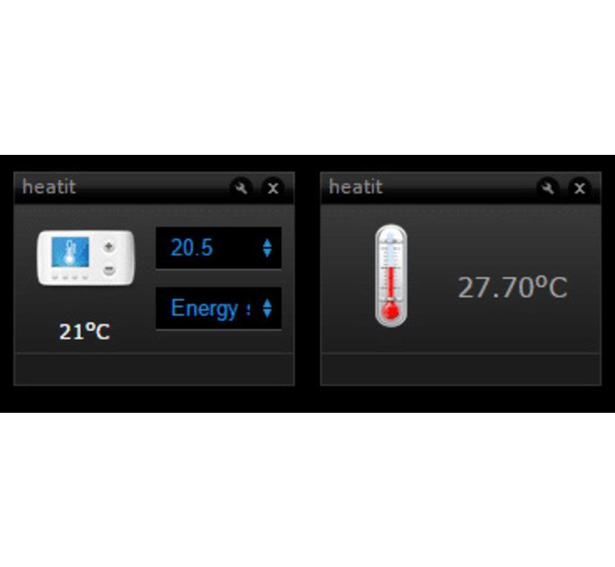 Z-Wave domotica thermostaat Heatit