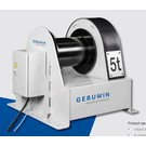 Gebuwin Elektrische wormwiel lier low speed