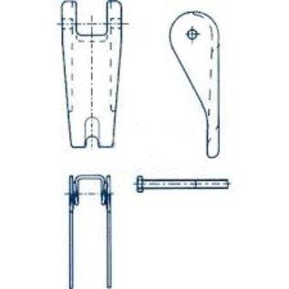 Cartec veiligheidsklepset (gietdeel) grade 80)