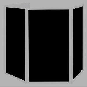 American DJ Doeken voor Event Facade zwart (4 stuks)
