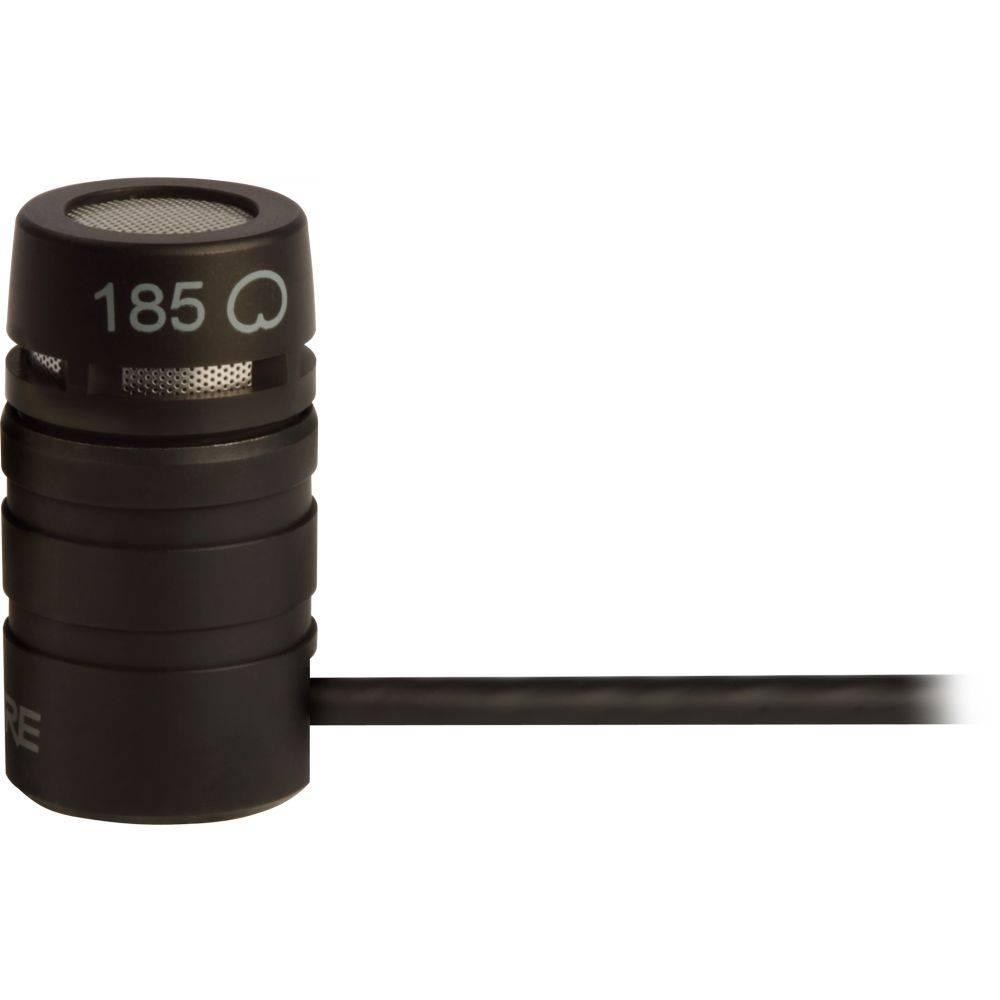 Shure WL185 Cardioide lavalier microfoon zwart