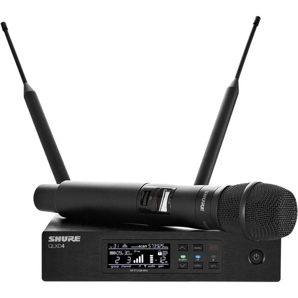 Shure QLXD24E-KSM9 draadloos microfoon systeem