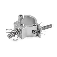 Riggatec Halfcoupler Small zilver 32-35mm RVS