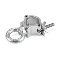 Riggatec Halfcoupler Small zilver 32-35mm met oog