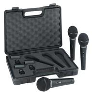 Behringer XM1800S Set met 3 dynamische microfoons