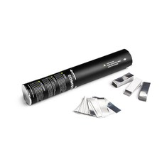 MagicFX Handheld Confetti Cannon 28cm wit+zilver