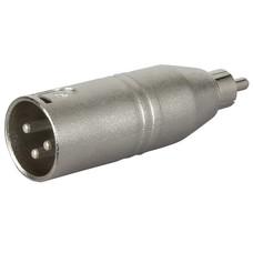 DAP FLA32 XLR male naar RCA male adapter