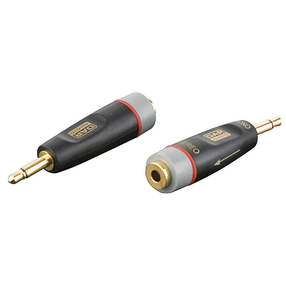 DAP Xcaliber XGA07 Mini jack male mono naar mini jack female stereo verloopplug