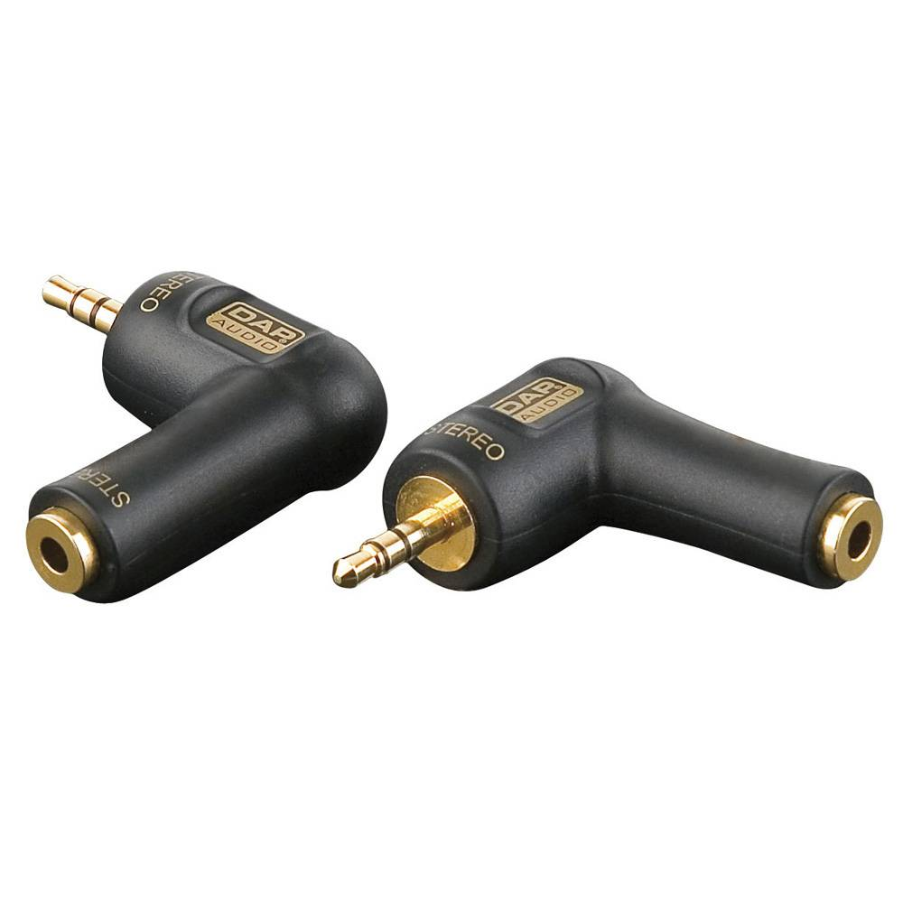 DAP Xcaliber XGA08 Haakse mini-jack verloopplug stereo