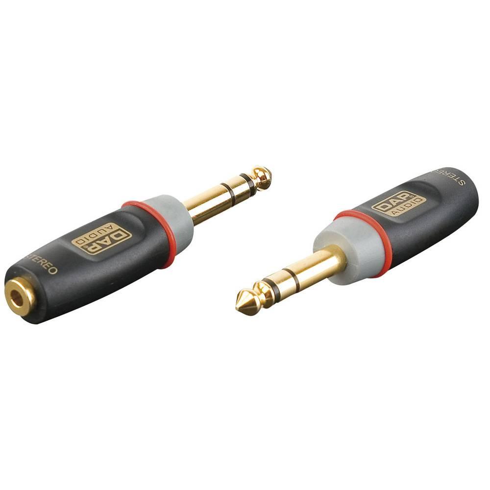 DAP Xcaliber XGA13 Jack male stereo naar Mini Jack female stereo verloopplug