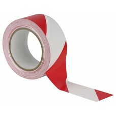 Showtec Vloer-markeringstape 50mm rood-wit