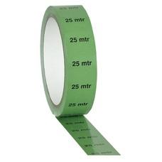 Showtec PVC markeringstape 25m indicatie groen