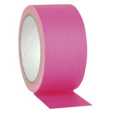 Showtec Gaffa tape Neon 50mm 25m roze