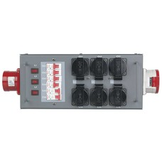 Showtec Split Power 32 krachtstroomverdeler 32A/5P