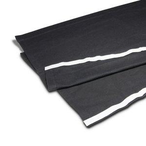 Adam Hall zwart podiumrok met klittenband 60cm x 2m