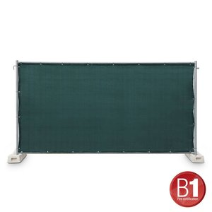 Adam Hall Hekwerk windscherm gaasdoek 341 x 176cm groen