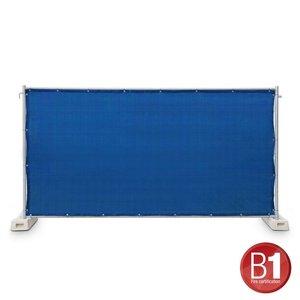 Adam Hall Hekwerk windscherm gaasdoek 341 x 176cm lichtblauw