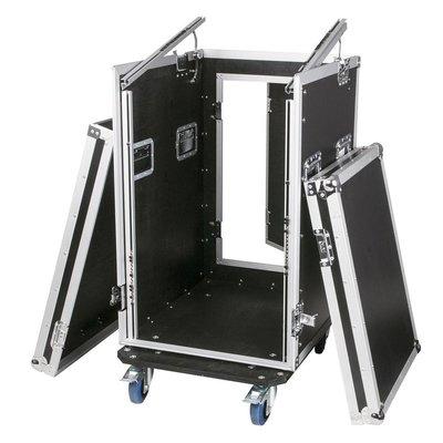 Combi-flightcase 19 inch