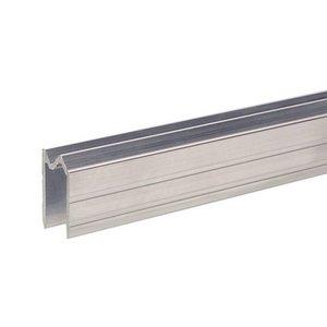 Adam Hall Aluminium omkeer sluitprofiel 13mm