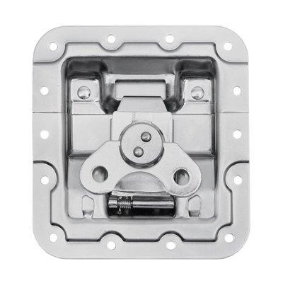 Adam Hall 172631 Medium inbouw vlinderslot met verzet en revet bescherming 12mm diep
