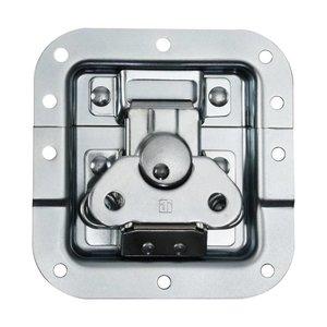 Adam Hall 17283 Medium inbouw vlinderslot met verzet 12mm diep