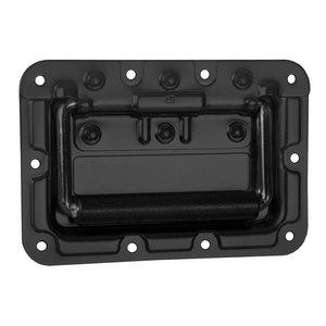 Adam Hall 34081BLK Medium inbouw handvat met revet bescherming 9mm zwart