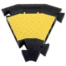 Defender III bocht geel