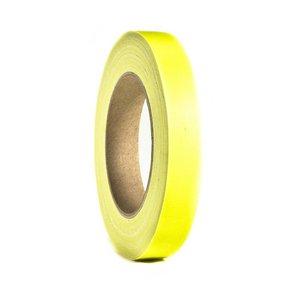 Adam Hall Gaffa tape neon 19mm 25m geel