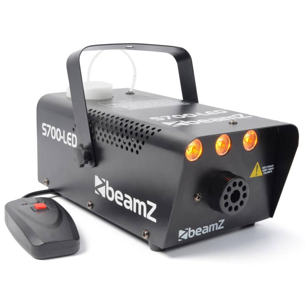 Beamz S700-LED rookmachine met vuureffect 700W