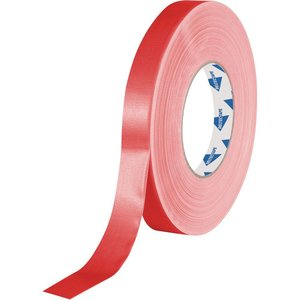 Deltec Gaffa tape rol 19mm 50m rood