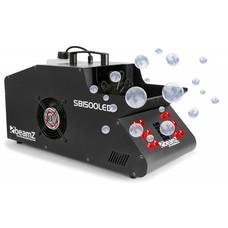 Beamz SB1500LED rook- en bellenblaasmachine met LEDs