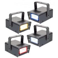 Beamz Set met 4 gekleurde mini stroboscopen