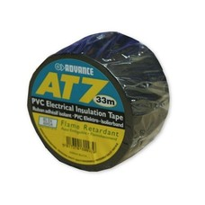 Advance AT7 PVC Tape 50mm 33m zwart