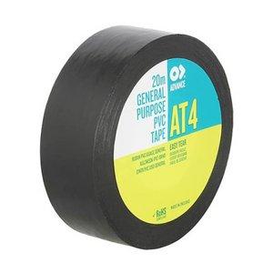 Advance AT4 PVC tape 19mm 20m  zwart