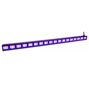 Beamz BUV183 18x 3W UV LED-bar