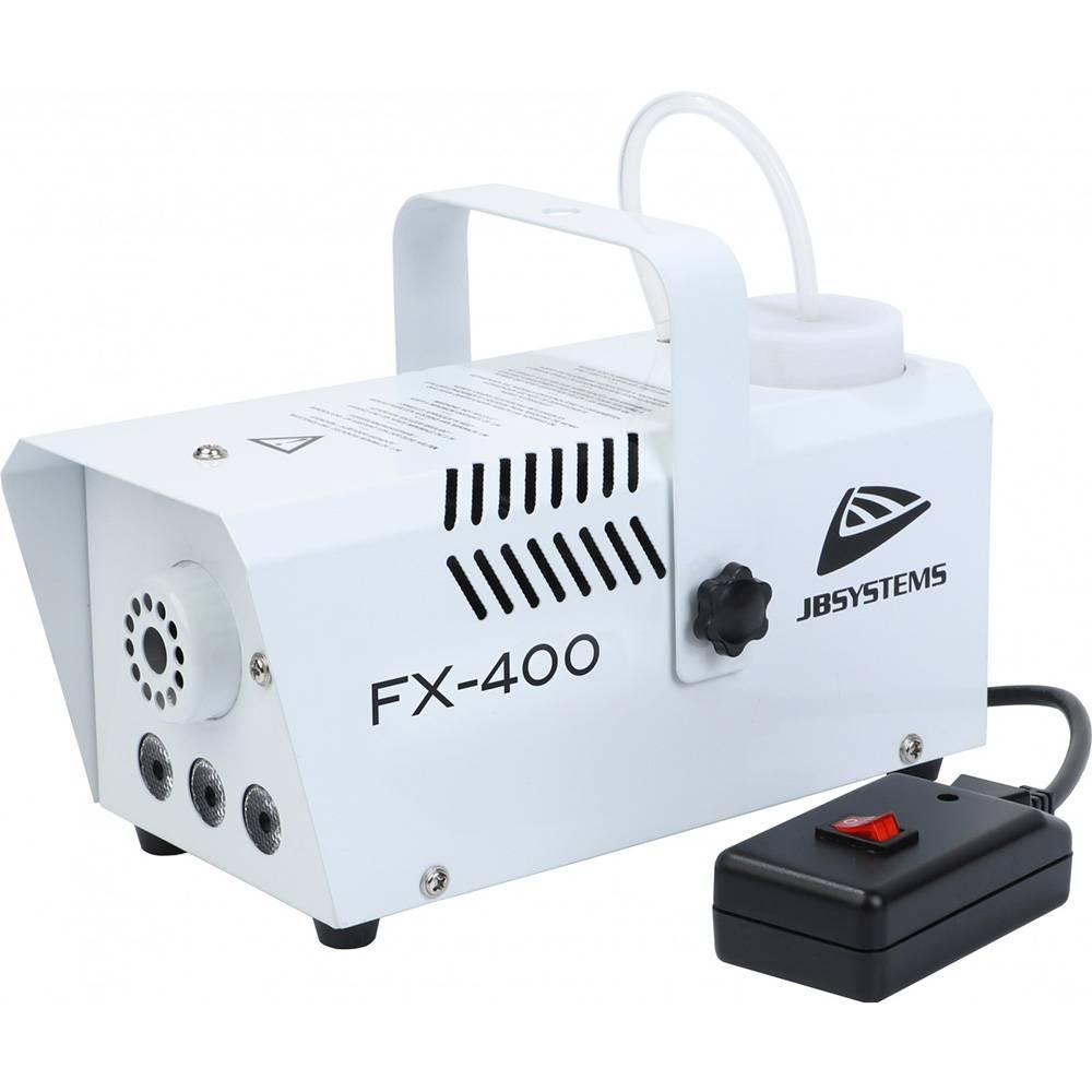 JB Systems FX-400 rookmachine met amber LEDs