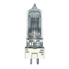 GE GY9.5 230V/500W M40 raylight lamp