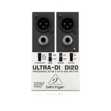 Behringer Ultra-DI DI20 actieve 2-kanaals DI box en splitter