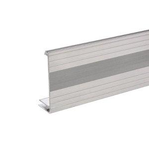 Adam Hall Aluminium sluit hoekprofiel 80mm hoog 7mm basis