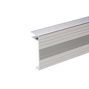 Adam Hall Aluminium sluit hoekprofiel 80mm hoog 9,5mm deksel