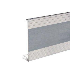 Adam Hall Aluminium sluit hoekprofiel 120mm hoog 7mm basis