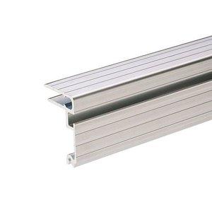 Adam Hall Aluminium sluit hoekprofiel met overlatch slotstrip 7mm deksel