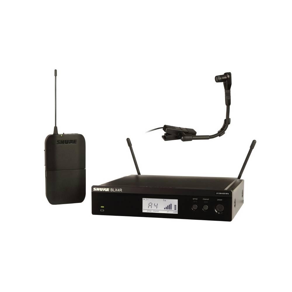 Shure BLX14R-Beta 98 Draadloos instrument systeem (rackmount)